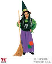 Costume de sorcière + chapeau,couleurs magnifiques ENFANTS CARNAVAL