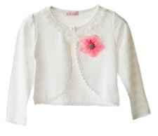 Cotone Bolero disponibile in rosa Avorio/Bianco sporco 18-24 Mesi a 5-6 Anni