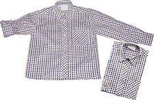 Trachtenhemd Kinderhemd Trachten Hemd mit  Krempelarm kariert St. Peter Trachten