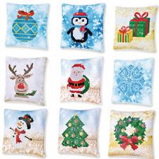 Diamond Dotz Diamond Painting Kit Beginners Cushion 18cm x 18cm Christmas
