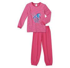 pyjama fille de Schiesser, CHEVAL AMOUR taille 104 116 128 140 152 pyjama neuf