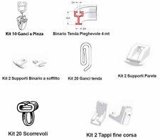 Binario Pieghevole e Accessori x Realizzazione Tendine Camper Finestre Cabi RN