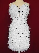 Da NeeNa W Feather Latin Dance Drag Queen Dress XS-XL