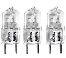 (3)-Bulbs JCD 20W G8 120V Halogen Light bulbs 20Watt GY8.6 T4 Anyray