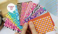 20 pcs Polaroid Film Skin Instant film Stickers Fuji film UK Cute Fun Pattern