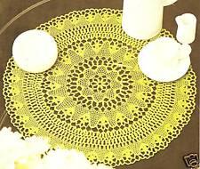 Circular De Mesa De Centro De Mesa De Centro de patrón de ganchillo