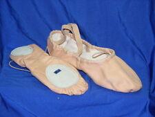Freed of London Chacott SS01CX Canvas Split Sole Ballet Shoe Pink (Nude) C width