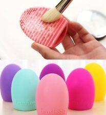 Brush Egg en Silicone Nettoyage Pinceaux à Maquillage Oeuf Couleur au Choix