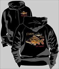 Anglerjacke Angler Jacke Kapuzenjacke Sweatjacke Carpfishing Karpfenangler   45