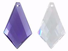 SWAROVSKI Crystal 8755 Kite PRISMA di vetro da appendere Ciondolo Elemento Originale 50mm