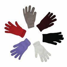 Damas Niñas Mágico Guantes Para Mujer Elástica caliente de invierno Magic Gloves 6 Colores