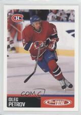 2002-03 Topps Total #109 Oleg Petrov Montreal Canadiens Hockey Card