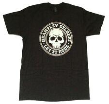 Brantley Gilbert Let It Ride Skull Logo Black T Shirt New Official Soft