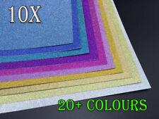 Bulk 10-100 250gsm A4 Glitter Cardstock Craft Paper  Scrapbooking Card Making