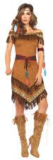 Native Princess 4 Piece Adult Women's Costume Fringe Fancy Dress Leg Avenue