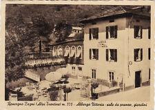 #RONCEGNO BAGNI: ALBERGO VITTORIA- SALE DA PRANZO- GIARDINI