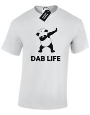 DAB LIFE KIDS CHILDRENS T SHIRT FUNNY PANDA DESIGN DABBING FAN CUTE BOYS TOP