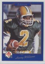 1991 Jogo CFL #18 Henry Williams Edmonton Eskimos (CFL) Football Card