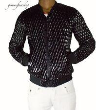 Time is Money club jacket, Mens PU leather urban g designer sports zip jacket