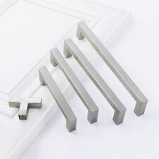 "10mm Squar Bar Kitchen Bathroom Cabinet Handle Pulls Knobs Nickel CC 2.5""-5"""
