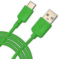 1M conector USB de tipo C reversible de sincronización de datos cable de plomo de carga + ✔ Verde Esmeralda