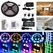 5M SMD 3528/5050/5630 300LED Flexible Strip Light+Remote+Power Supply Full Kit