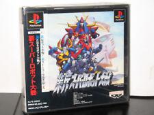 SHIN  SUPER  ROBOT  WARS  PSX GIOCO USATO VERSIONE  JAP