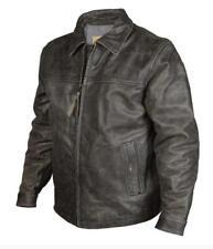 StS Ranchwear Western Jacket Boys Rifleman Leather  Black STS5465