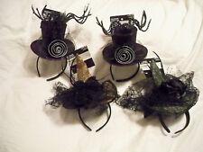 Imagin8*Headband Hat*Top Hat*Spider*Witch hat with veil*Orange*Green*Purple*