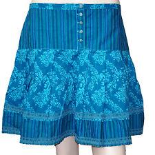 CHIPIE jupe bleue imprimée femme