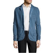 NEUF veste CELIO L ou XL bleu effet marbré gilet sweat costume blouson cardigan