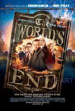 THE WORLD'S END MOVIE POSTER FILM A4 A3 ART PRINT CINEMA