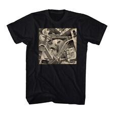 Relativity Optical Illusion M. C. Escher Graphic Artist Adult T Shirt