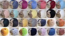 100g/70meter Natural Cotton XXL 18 Verschiedene Farben