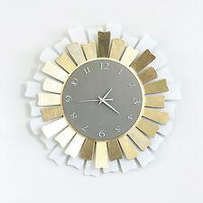 Orologio da parete in ferro Lux design italiano Arti e Mestieri 2906 48 cm diam