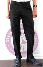 Boys School/Formal SLIM FIT/SLIM LEG Trousers-QUALITY PALVINI TROUSER-Black
