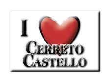 CALAMITA PIEMONTE FRIDGE MAGNET MAGNETE SOUVENIR LOVE CERRETO CASTELLO (BI)--