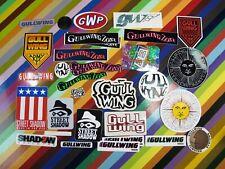 vtg 1980s Gullwing Trucks skateboards sticker - assorted graphics Twilight Zone