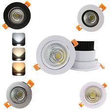5W 7W 9W 12W 15W 20W LED Ceiling Recessed Down Light Fixture Lamp Light & Driver