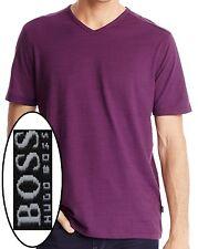 NWT Hugo Boss Black Label Regular Fit Pima Cotton V-Neck T-Shirt Size XXL