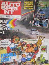 Autosprint 42 1980 Poster Beta-Toleman Stohr,Rossi.3° disp 'Ferrari in tuta'sc.5