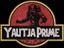 Yautja Premier Predator Jurassic Park Mash Up Film T-Shirt