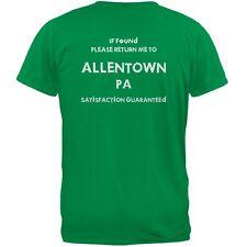 St Patricks Day Return Me to Allentown Irish Green Adult T-Shirt