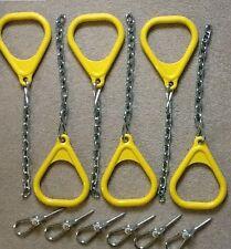 Swingset Trapeze ring kit,playset ring set,playground,snap hook swing hanger,GYB