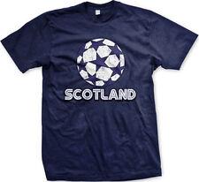 Scotland Scottish Scots Soccer Ball New Men's T-shirt
