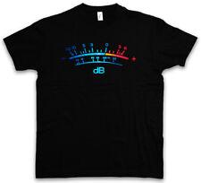DB Meter II T-Shirt Decibel Music Bass Vinyl Stereo Music Musik Recorder Studio