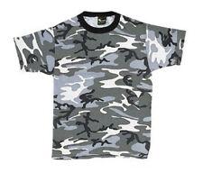 Kids Grey City Camo T-Shirt | COMBAT | DRESS | PLAY | ARMY