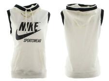 Nike Womens NSW Sleeveless SL Archive Hoodie 855705-133 Cream Black