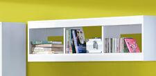 Wandregal Regal Wandboard Kinderzimmer 120cm weiß / Hochglanz (GU-13)