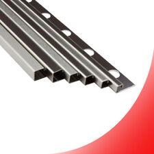 Quadro Edelstahlschiene Profil Fliesenschiene Edelstahl V2A L250cm H8-12mm